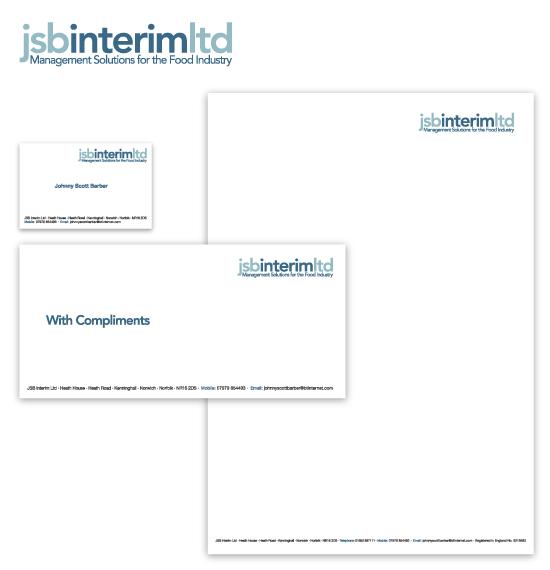 JSB Interim stationery